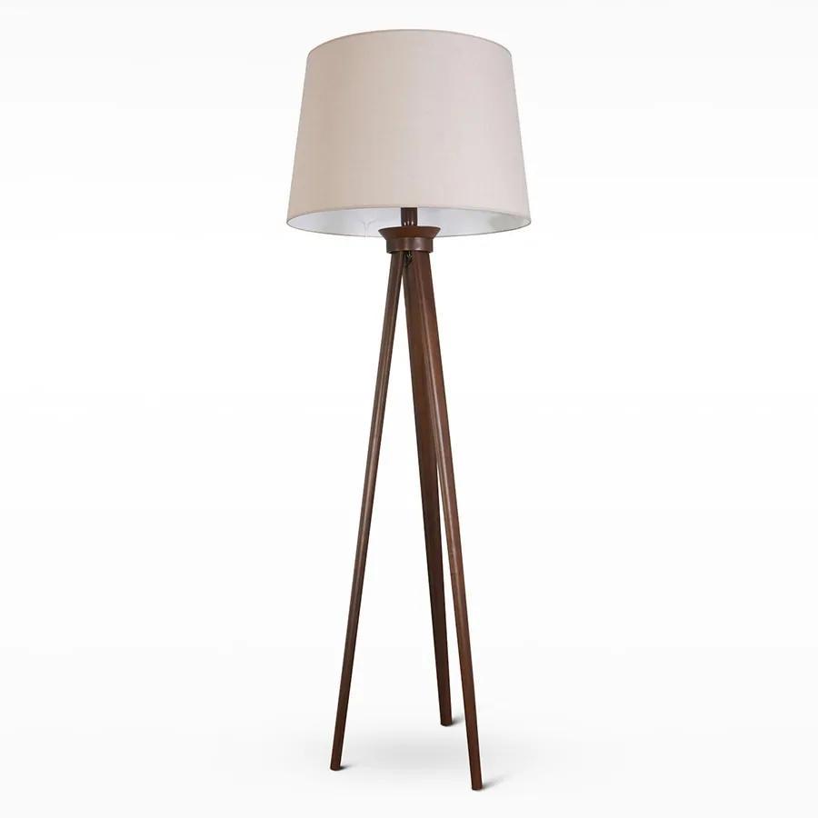 Light4home Stojacia lampa TRION 1xE27/60W/230V béžová 176 cm LH0254