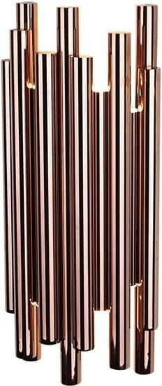 ORGANIC | luxusná nástenná led lampa Farba: Meď