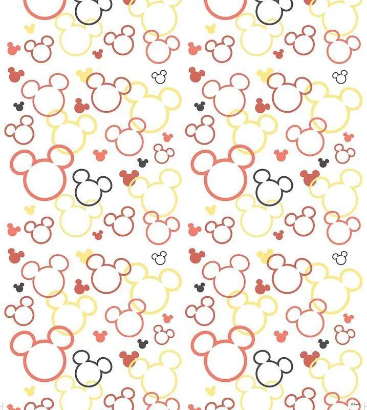 AG Design Mickey a Minnie vzor - papierová tapeta