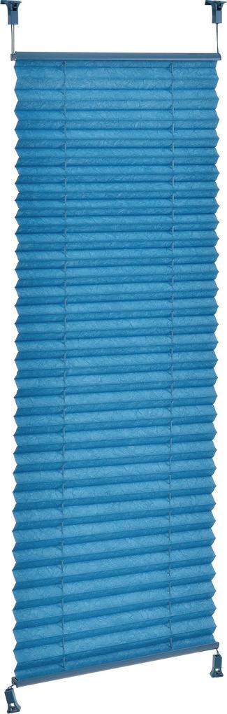 [neu.haus]® Harmoniková Plisse roleta - 45x125 cm - tyrkysová- ochrana pred slnkom a svetlom - tienenie - bez vŕtania