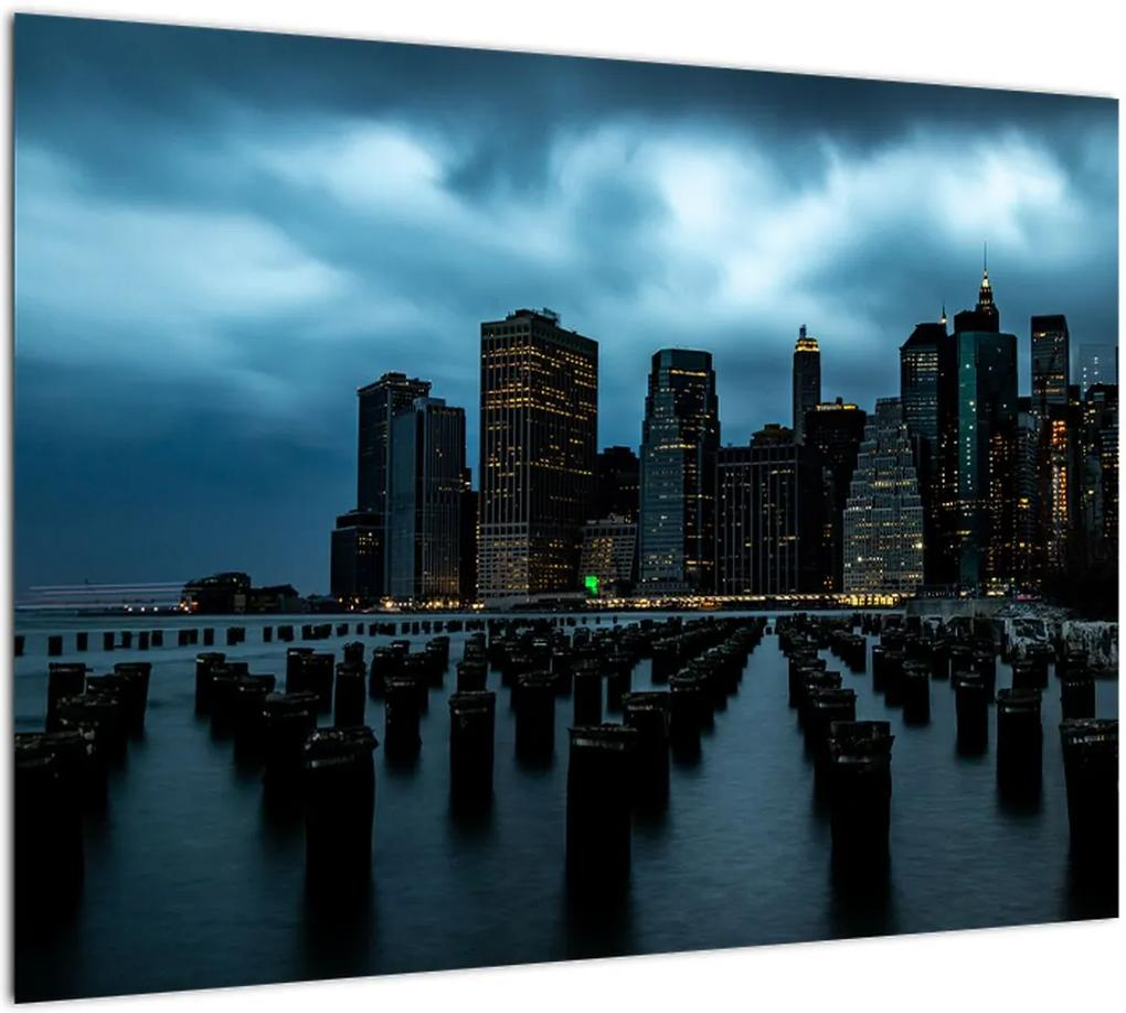 Obraz - Pohľad na mrakodrapy New Yorku (70x50 cm), 40 ďalších rozmerov