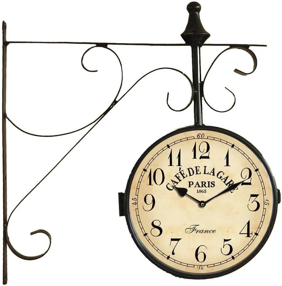 Nástenné hodiny Antic Line Station Clock
