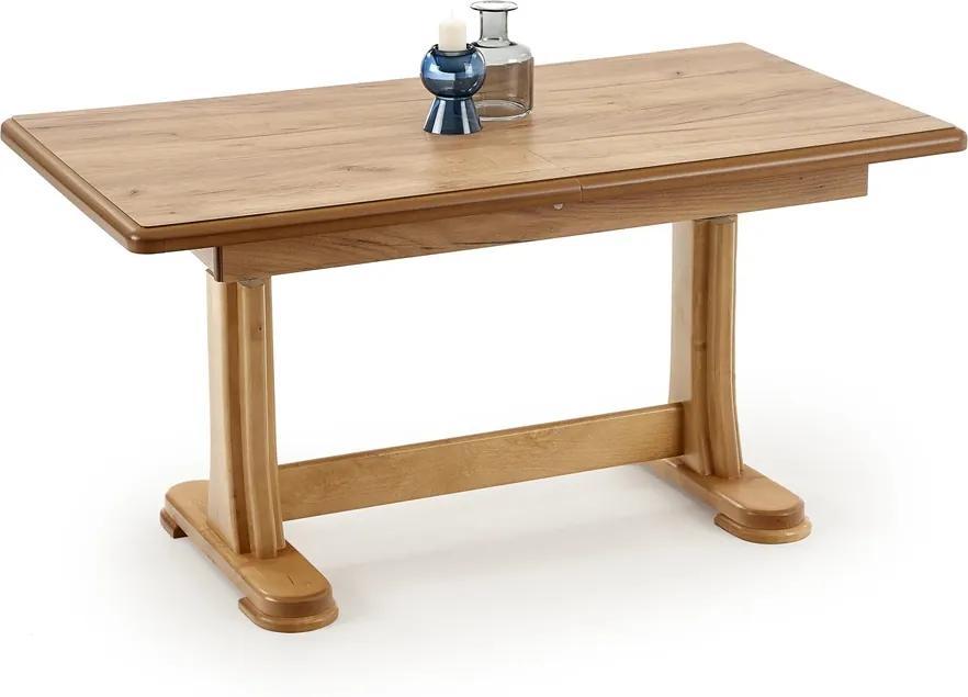 HALMAR Tymon rozkladací konferenčný stolík dub craft