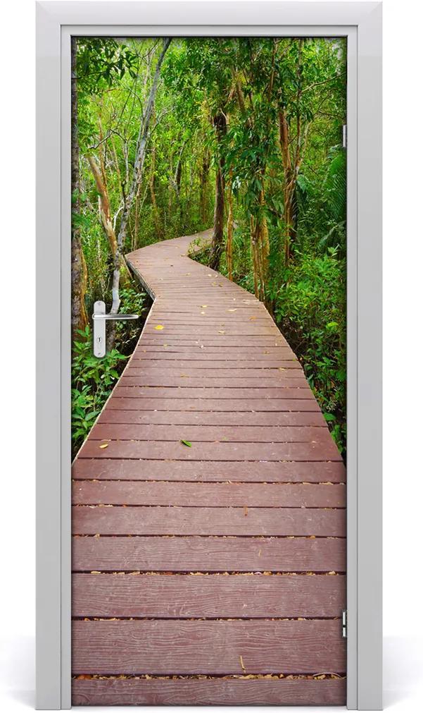 Fototapeta samolepící dveře Stezka džungle