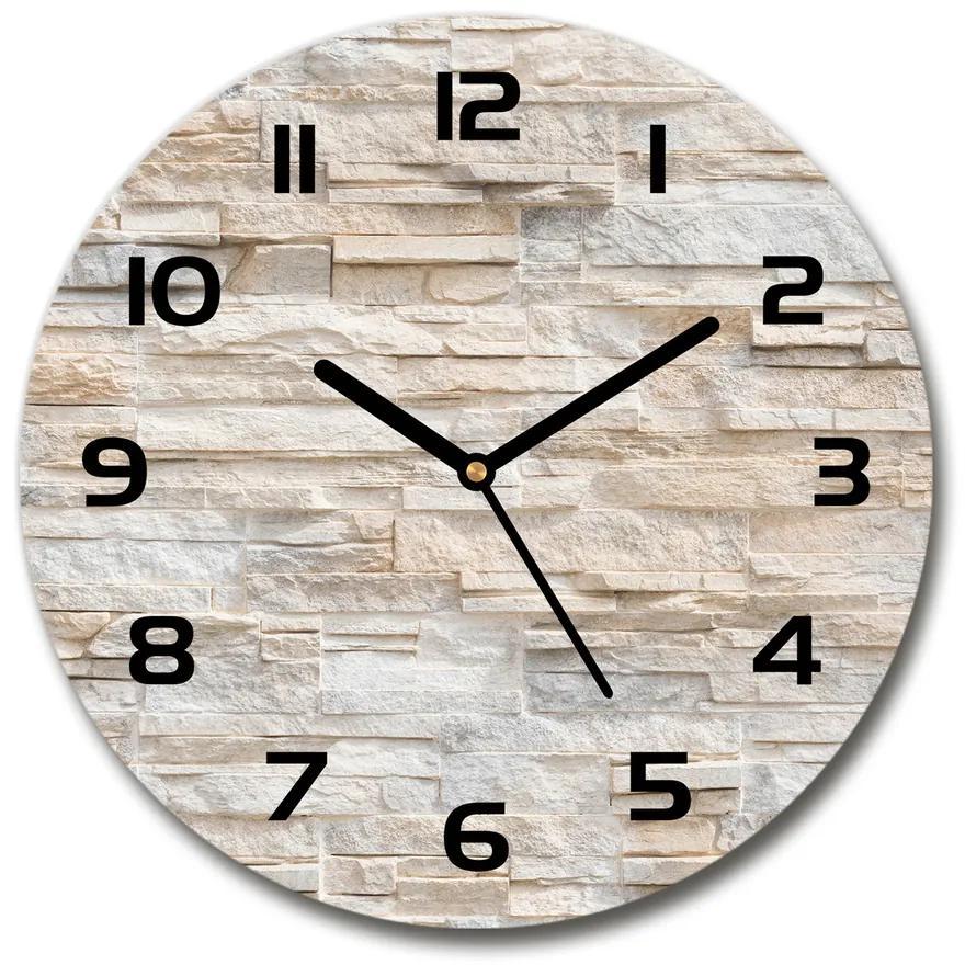 Sklenené hodiny na stenu Murovaná múr pl_zso_30_f_92760145