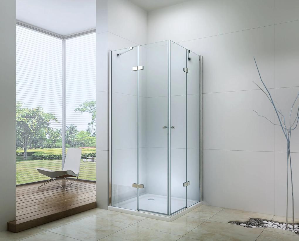MAXMAX Sprchovací kút RONA DUO 80x100 cm 100 obdélníkový