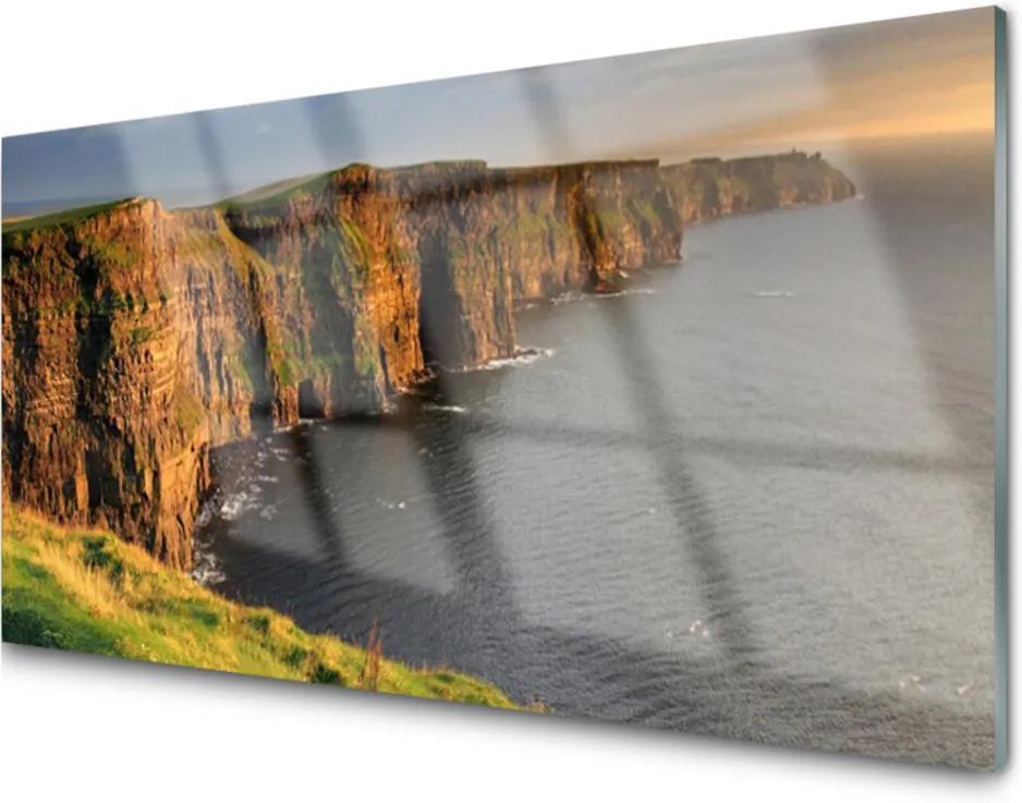 Skleněný obraz Skály pobřeží moře