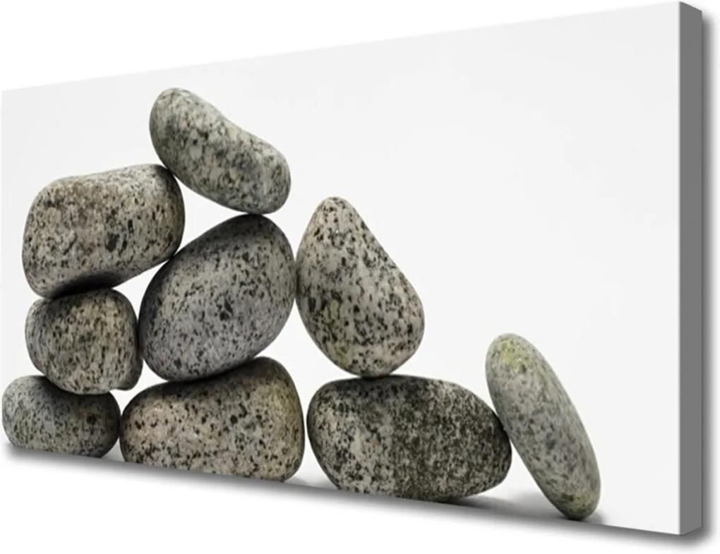 Obraz Canvas Skleněný kameny umění
