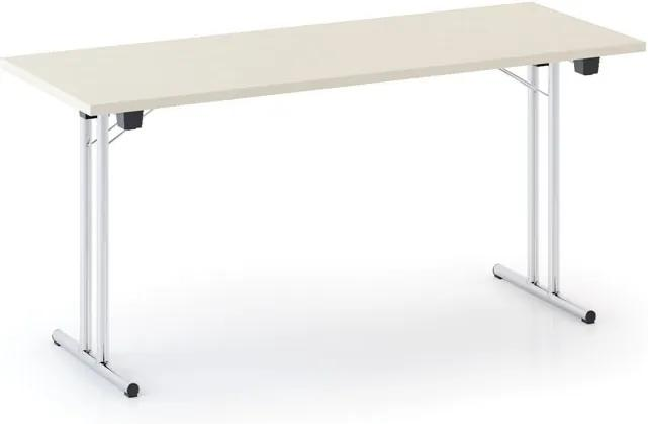 Skladací stôl FOLD, 1600 x 800 mm, breza