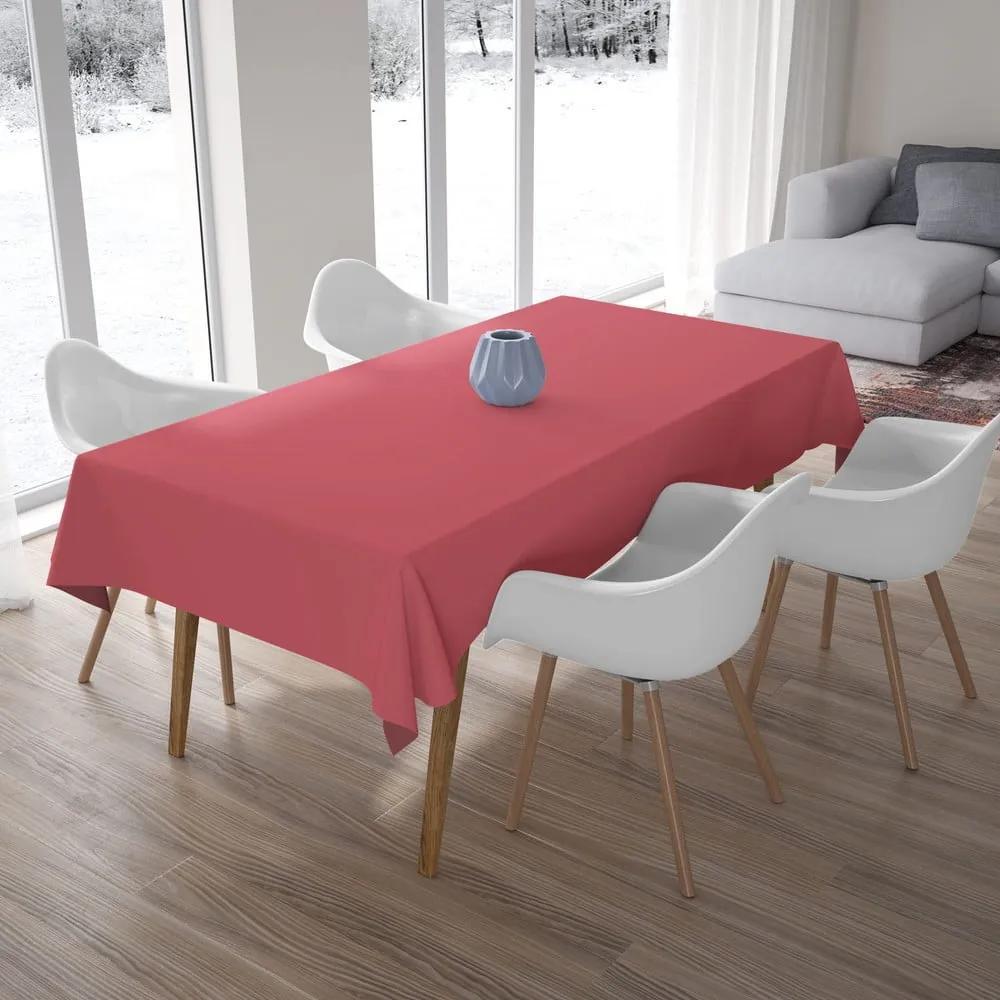 Ružový obrus, 140 × 180 cm