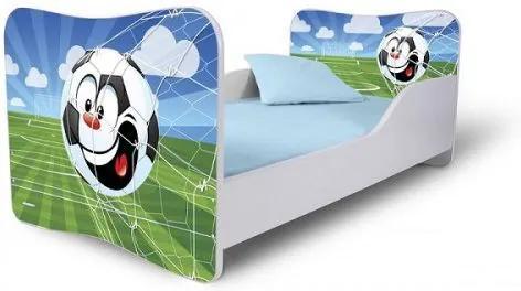 MAXMAX Detská posteľ KOPAČÁK + matrac ZADARMO 140x70 pre chlapca NIE
