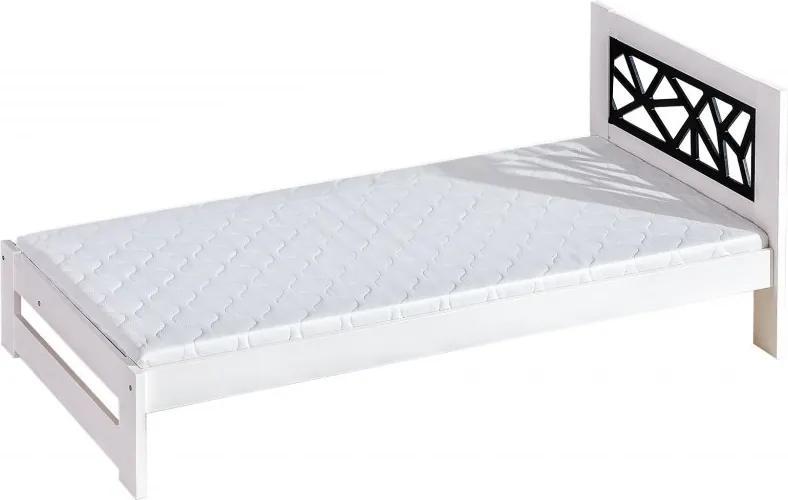 DL Jednolôžková masívna posteľ ROMA Rozmer lôžka: 90x200