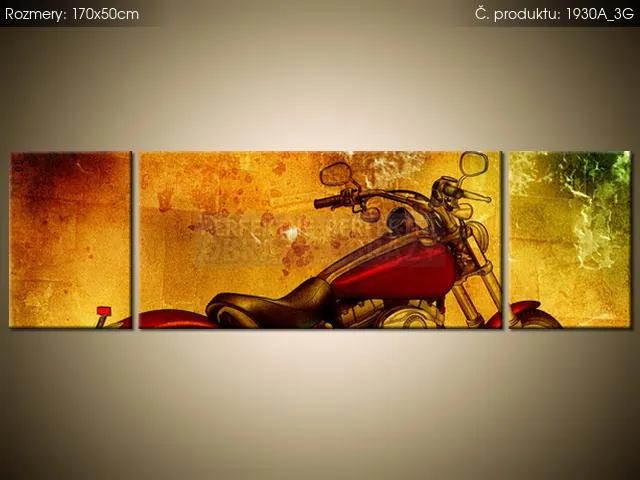 Tlačený obraz Motorka 170x50cm 1930A_3G