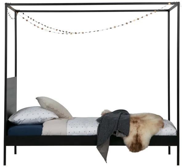 Baron posteľ 90x200 čierna