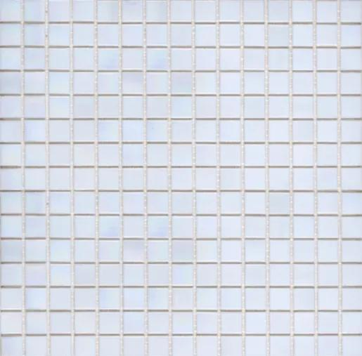 Sklenená mozaika Premium Mosaic bílá 33x33 cm lesk MOS20WHHM