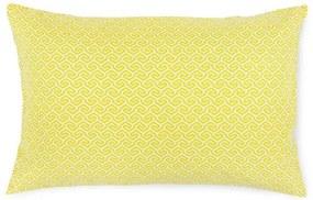 Záhradný vankúš žltý UV obdĺžnik - 45x70 cm