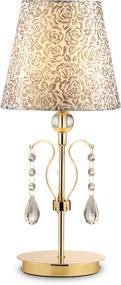 Stolová lampa Ideal lux 088167 PANTHEON TL1 ORO 1xE14 40W