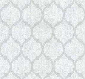 Vliesová tapeta, retro vzor sivý, Casual Chic 1335320, P+S International, rozmer 10,05 m x 0,53 m