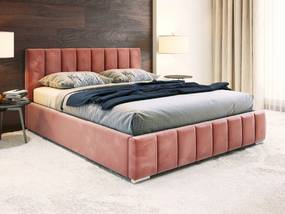 PROXIMA.store - Čalúnená posteľ ALICANTE - ružová - 140/160/180 Veľkosť postele: Pre matrac 140 x 200 cm