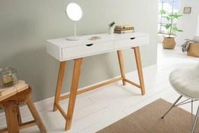 IIG -  Priestranný konzolový stôl SCANDINAVIA 100 cm biely