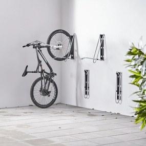 Nástenný stojan na bicykle Leonardo, max. šírka pneumatiky 55 mm