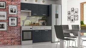 Kuchyne MORENO grafit 2
