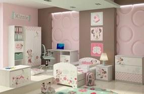 DO Dievčenská detská izba Disney Minnie - 140x70 3ks