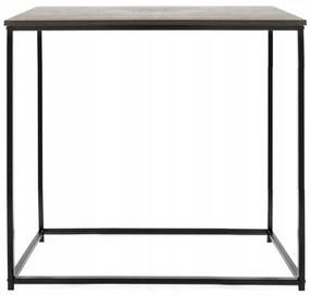 Tutumi Konzolový stolík 76 × 60 cm KALLIS čierny