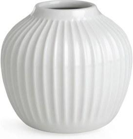 Biela kameninová váza Kähler Design Hammershoi, výška 12,5 cm