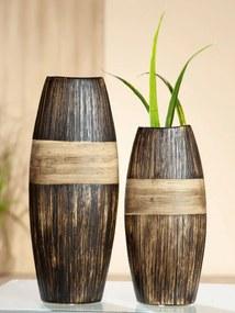 Gilde Keramická váza Marron, 30 cm