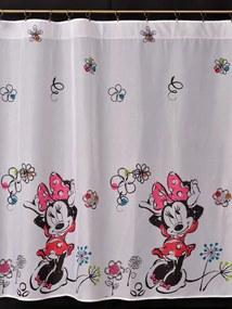 Záclona Minnie Mouse, 160 cm