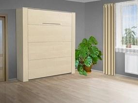 Nabytekmorava Výklopná posteľ VS 3070P, 200x180 cm nosnost postele: štandardná nosnosť, farba lamina: breza 1715