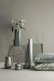 ferm LIVING Kovový stojan na kvetináč Grey - menší