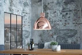 Bighome - Visiaca lampa LEXIGON S - medená