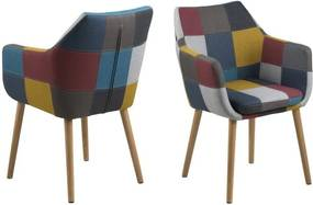 Kreslo Nora Corsica Colorful Patchwork