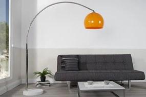 Bighome - Stojaca lampa FILOMETOR - oranžová