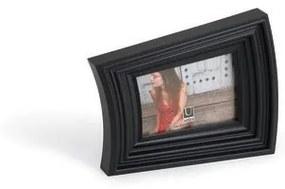 Fotorámik SHRUG 10x15 cm černý Umbra, Plast, 10x15cm, Čierna