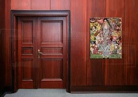 Obraz na plátne PORTRÉT FRIEDERIKE MARIA BEER – Gustav Klimt  REP043