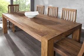 Bighome - Jedálenský stôl MAKASSAR NATUR 200cm - prírodná