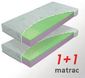 Materasso Slovakia, s.r.o. Matrac Adrian 1+1, 80x195cm, AKCIA, Rolovaný