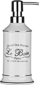 Dávkovač mydla z kameniny Premier Housewares Le Bain