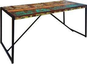 Bighome - Stôl JAVA 145 cm - hnedá