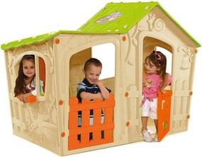 KETER MAGIC VILLA detský domček, béžová/zelená 17190655