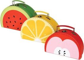 Kartónový kufrík Jablko - malý