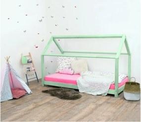 TERY detská posteľ bez bočnice, Veľkosť 120 x 200 cm, Farba pastelová zelená