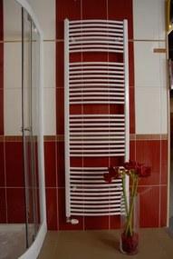 THERMAL TREND Kúpeľňový radiátor KDO 600 x1320 biely