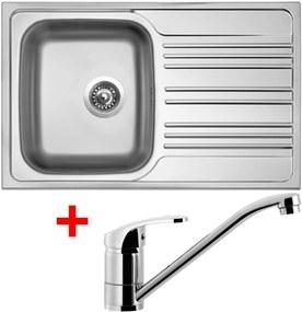 Set Sinks STAR 780 V matný + batéria PRONTO
