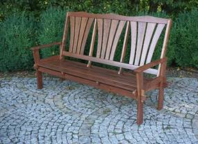 Záhradná drevená lavica MORENO