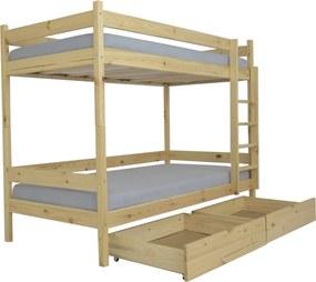MJ Poschodová posteľ Paula 2 200x90