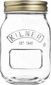 Zavárací pohár Kilner s kovovým viečkom, 0,5 l